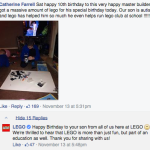 LEGO learning and caring